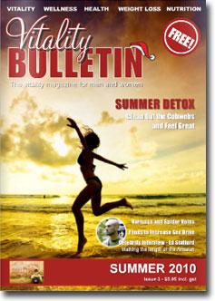 Vitality Bulletin Cover - Summer 2010